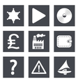 Icons for Web Design set 24 vector image
