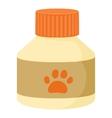 Pet medicine icon cartoon style vector image vector image