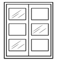 Single window vector image