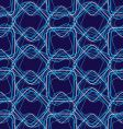 swirl square repeat vector image vector image