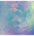 Abstract geometrical background with blue vector image
