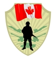 Army of Canada vector image