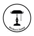 Writers lamp icon vector image