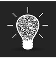 House a bulb vector image vector image