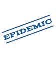 Epidemic Watermark Stamp vector image
