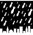 military rain vector image vector image