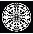 Polish traditional folk pattern in circle vector image vector image