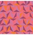 3d abstract pyramidal pattern vector image vector image