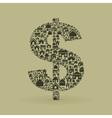 House dollar vector image