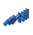 game of domino vector image