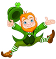 Happy Leprechaun vector image
