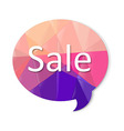 Color Speech Bubble vector image vector image