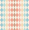 Argyle seamless pattern vector image