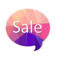 Color Speech Bubble vector image