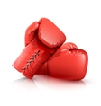Boxing Gloves Realistic vector image