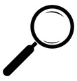 Magnifying glass icon Magnifier Isolated vector image