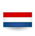 Dutch Flag vector image