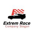 Extrem Race Design vector image