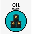 Oil price and industry design vector image