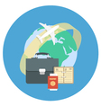 Business Traveling Concept vector image