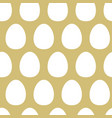 abstract eggs seamless pattern vector image