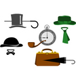 old style clothing vector image