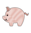 piggy safety money bank concept vector image