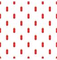 Punching bag pattern cartoon style vector image
