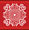 scroll pattern vector image vector image