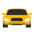 Taxi yellow car vector image