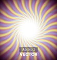 Abstract purple wavy rays vector image