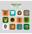 Animals Avatars vector image