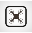 Drone Icon Flat Simple vector image