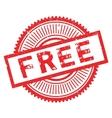 Free stamp rubber grunge vector image