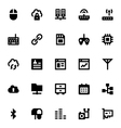 Internet Networking and Communication Icons 5 vector image