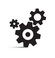 cog gear isolated icons vector image