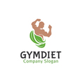 Gym Diet Design vector image