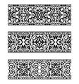 Decorative ornate vintage borders vector image vector image