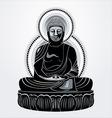buddha amitabha vector image