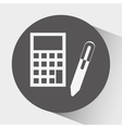 accounting icon design vector image