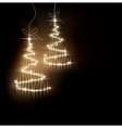 Funny Sparkler Tree background vector image