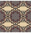 Ornate Mandala Background for greeting card vector image