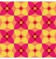 seamless 3d geometric abstract pattern vector image vector image