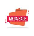 big sale style price label design vector image
