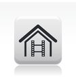 home video icon vector image vector image