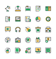 Business and Office Icons 4 vector image