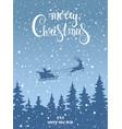 card christmas vector image