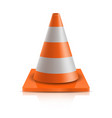 road cone - repair vector image