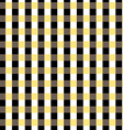 Seamless gingham pattern Black yellow white and vector image