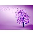 Abstract purple background EPS 8 vector image